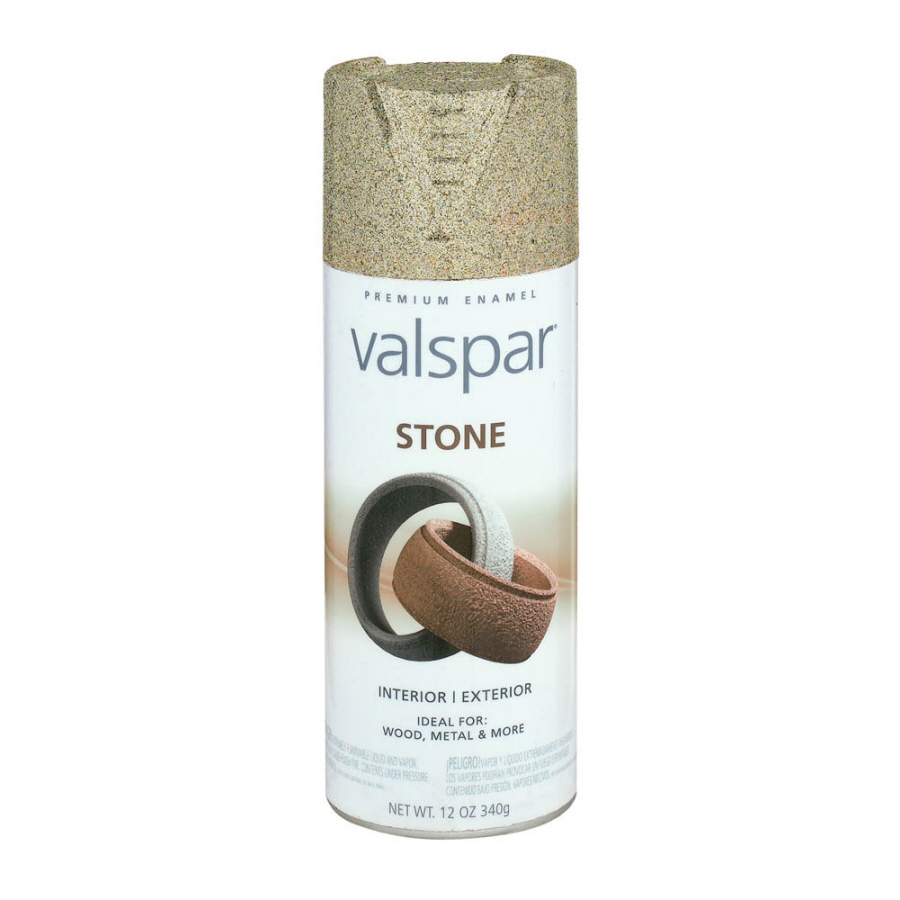shop valspar 12 oz ancient ruins stone spray paint at
