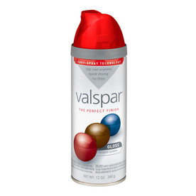 Valspar Classic Red Indoor/Outdoor Spray Paint