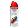 Valspar 12 Oz. Classic Red High-Gloss Spray Paint
