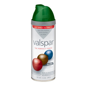 Valspar 12-oz Palmetto Green High-Gloss Spray Paint