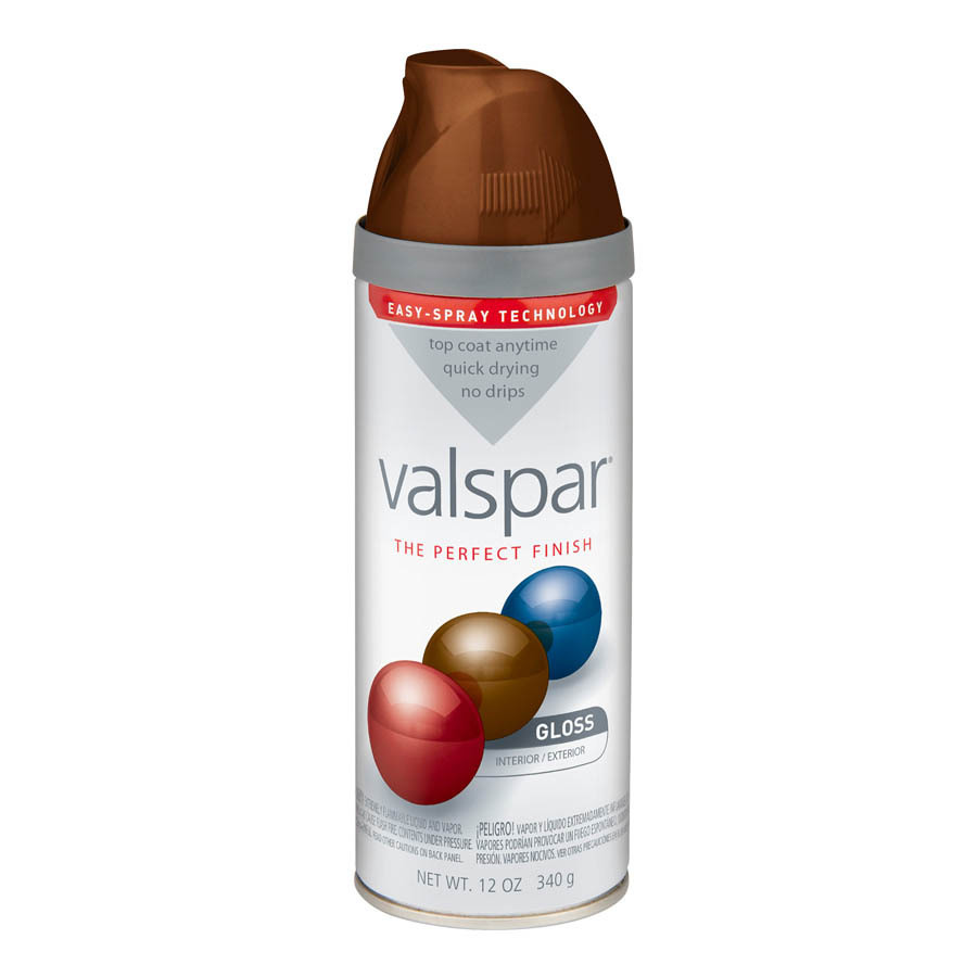 Valspar Roast Coffee Indoor/Outdoor Spray Paint
