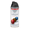 Valspar 12 oz Black Flat Spray Paint