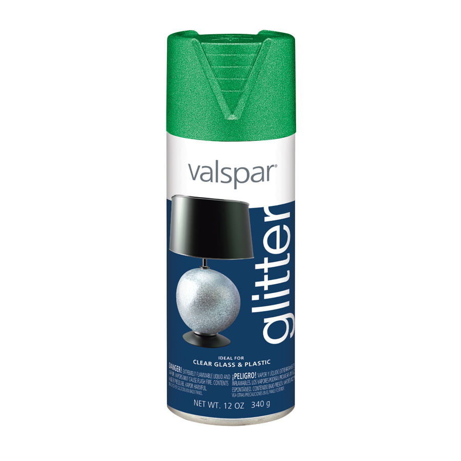 Shop Valspar 12 Oz Green Gloss Spray Paint At