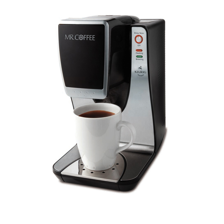 Single Serve Coffee Maker With Large Reservoir : Shop Mr. Coffee Single-Serve Coffee Maker at Lowes.com