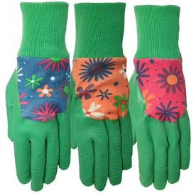 Style Selections Medium Women's Blue Cotton Garden Gloves