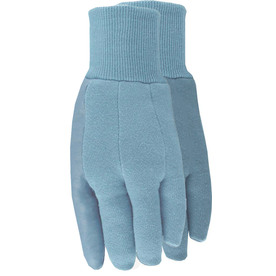 Style Selections Large Women's Blue Cotton Garden Gloves