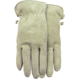 MidWest Quality Gloves, Inc. Medium Ladies' Leather Palm Work Gloves