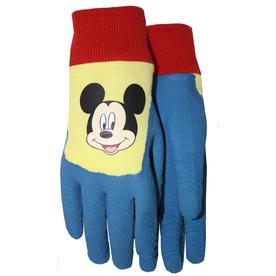 MidWest Quality Gloves, Inc. Children's Blue Cotton Garden Gloves