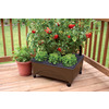 EMSCO GROUP 20-in L x 24.75-in W x 9.5-in H Resin Raised Garden Bed