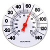 AcuRite Indoor/Outdoor Assorted Colors Thermometer