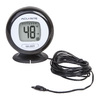 AcuRite Digital Indoor/Outdoor Black Thermometer