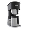 BUNN Graphite Black with Stainless and Silver Accents 10-Cup Coffee Maker