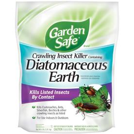Garden Safe Crawling Insect Killer with Diatomaceous Earth Powder