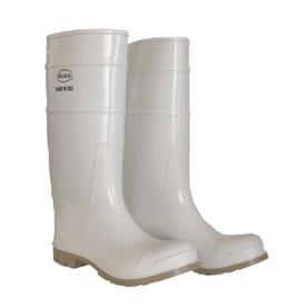 Boss Size-11 White Over the Sock Knee Boot