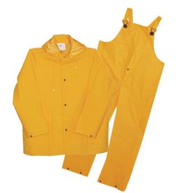 Boss XL Yellow Plastic Rain Suit