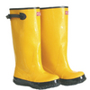 Boss Size-12 Yellow Over the Shoe Rubber Boot