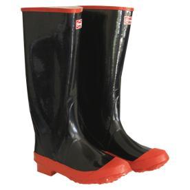 Boss Size 11 Black Rubber Knee Boot