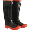 Boss Size 11 Black Rubber Knee Boot