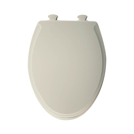 Church Lift-Off Biscuit Wood Elongated Slow-Close Toilet Seat