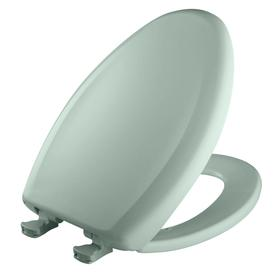 Bemis Lift-Off Seafoam Plastic Elongated Slow Close Toilet Seat