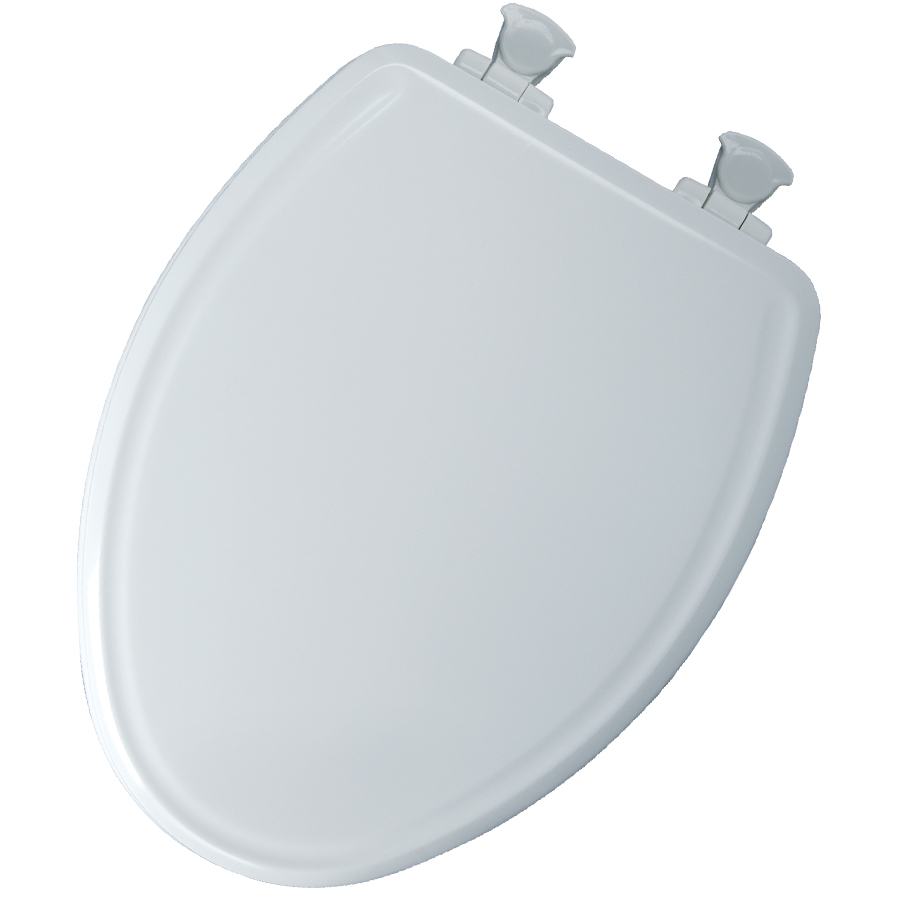 Church White Wood Elongated Slow Close Toilet Seat On PopScreen