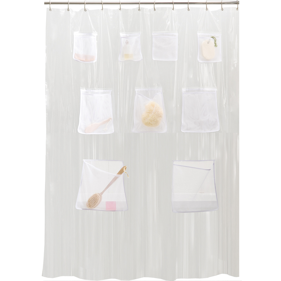 shop style selections eva peva clear shower curtain at
