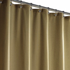 Style Selections Polyester Linen Solid Shower Curtain