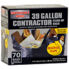 Contractor's Choice 70-Count 39-Gallon Trash Bags