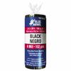 Blue Hawk 3-ft x 50-ft x 4-mil Black Consumer Sheeting