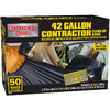 Contractor's Choice 50-Count 42-Gallon Outdoor Trash Bags