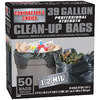 Contractor&#039;s Choice 50-Count 39-Gallon Trash Bags
