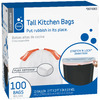 Style Selections 100-Count 13-Gallon Indoor Trash Bags