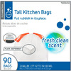 Style Selections 90-Count 13-Gallon Indoor Trash Bags