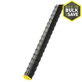 Steel Rebar (Common: 0.5-in x 10-ft; Actual: 0.5-in x 9.916-ft)
