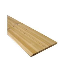 Shop 1 X 6 8 Cedar Tongue amp Groove Board At Lowescom