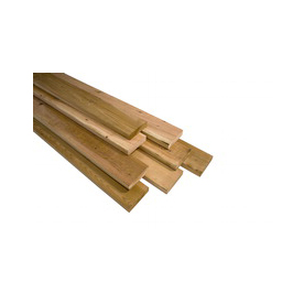 2 x 6 x 8 No. 2 Rough Cedar Lumber