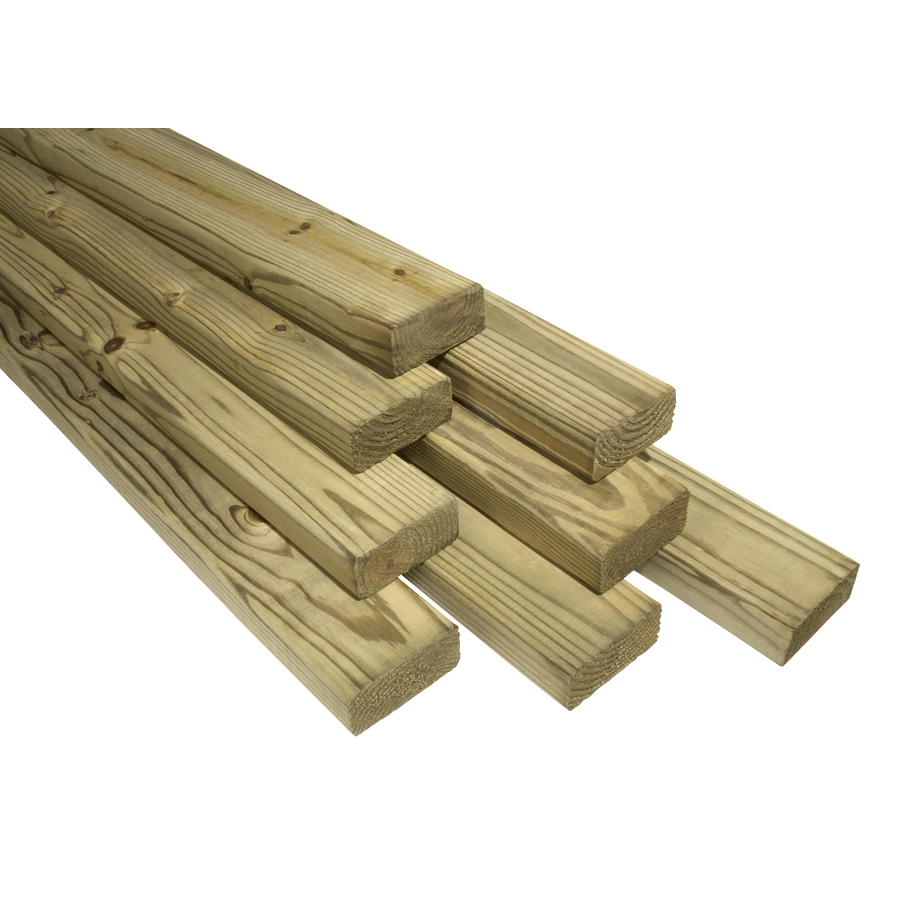 Shop 2x4x8 TOP CHOICE TREATED STRUCTURAL HEM FIR at Lowes.com