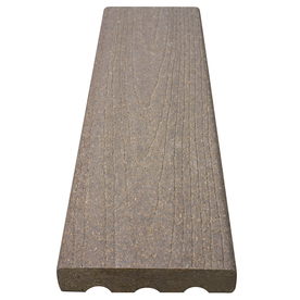 ChoiceDek Gray Composite Decking (Common: 5/4-in x 6-in x 20-ft; Actual: 1.125-in x 5.5-in x 20-ft 1-in)