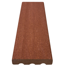 Choicedek premium redwood woodgrain decking from lowes for Choicedek warranty