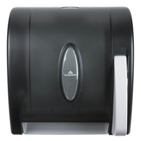 Georgia-Pacific Translucent Smoke Lever Control Paper Towel Dispenser