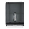 Georgia-Pacific Translucent Smoke Color C-Fold Pull Commercial Paper Towel Dispenser