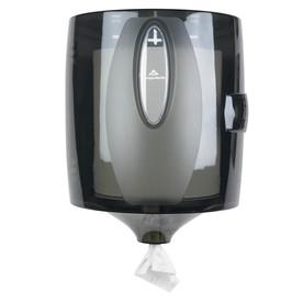 Georgia-Pacific Translucent Smoke Perforated Tear Paper Towel Dispenser