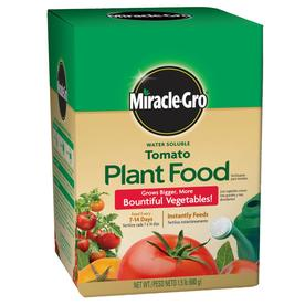 Miracle-Gro Tomato Plant Food Synthetic Flower and Vegetable Food (18-18-21)