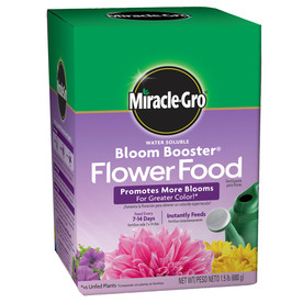 Miracle-Gro Bloom Booster Synthetic Flower and Vegetable Food (15-30-15)