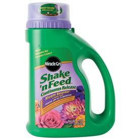 Miracle-Gro Shake 'n Feed Bloom Booster 4.5-lb Flower Food Granules