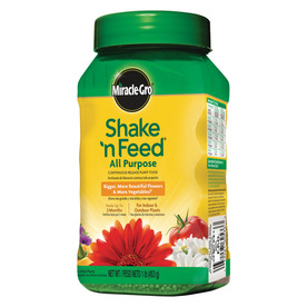 Miracle-Gro Shake 'N Feed Continuous Release 1-lb All Purpose Food (12 Percentage- 4 Percentage- 8 Percentage)