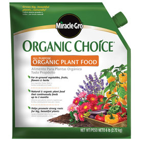 Miracle-Gro 6 lb Organic Choice All Purpose Organic Flower and Vegetable Food Granules