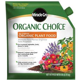 Miracle-Gro Organic Choice All Purpose 6-lb All Purpose Granules