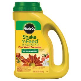 Miracle-Gro Shake 'n Feed All Purpose Plus Weed Preventer 5-lb All Purpose Granules