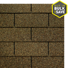 GAF Royal Sovereign 33.33-sq ft Golden Cedar Traditional 3-Tab Roof Shingles